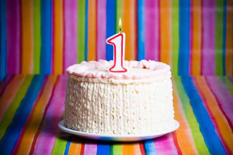 Торт на 1 год картинки